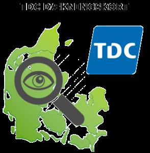 TDC dækningskort